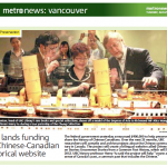 Metro Vancouver: UBC lands funding for Chinese-Canadian historical website